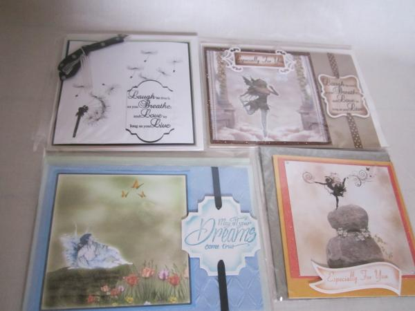 Fairies and Dandelion Cards