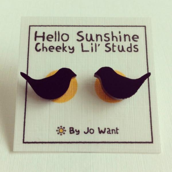 Tweet Lil Studs. Hello Sunshine by Jo Want