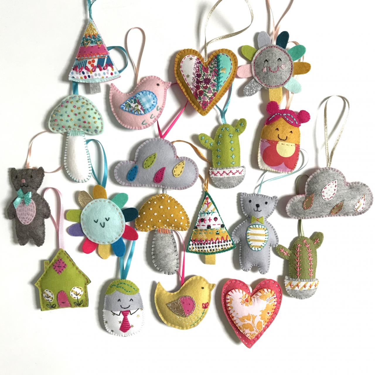 Hand stitched Lavender Bags by Shirley Rainbow
