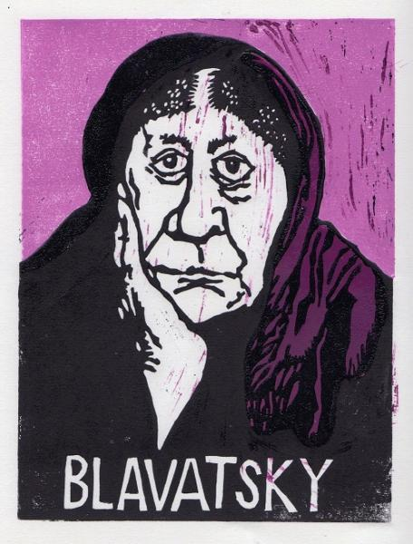 Lino cut and Screen print by Andrew Prime