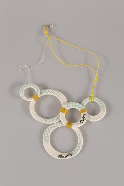 Porcelain Ceramic Necklace
